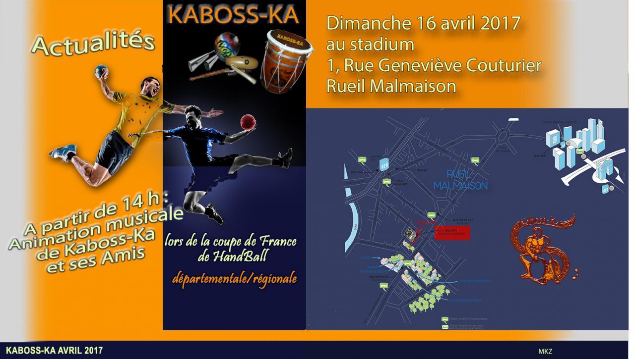 FLYER KABOSS-KA HAND BALL