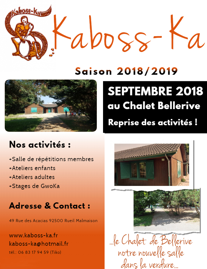 KABOSS-KA FLYER SEPTEMBRE 2018