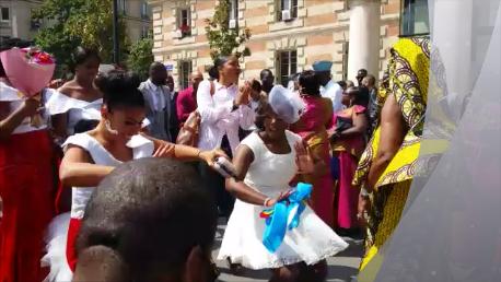La mariée danse avec le son Kaboss-Ka 2