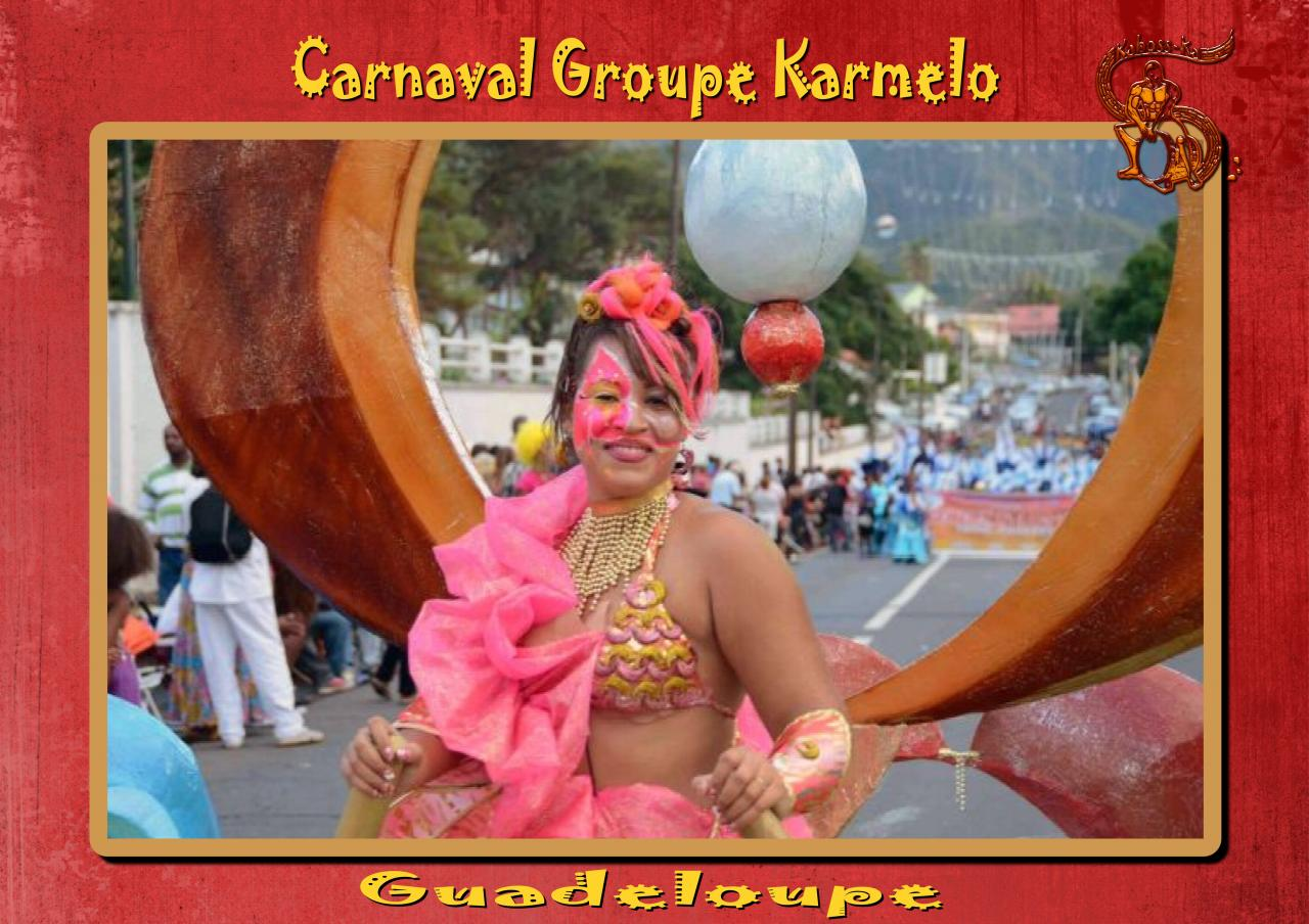 CARNAVAL GROUPE KARMELO 1 - GUADELOUPE