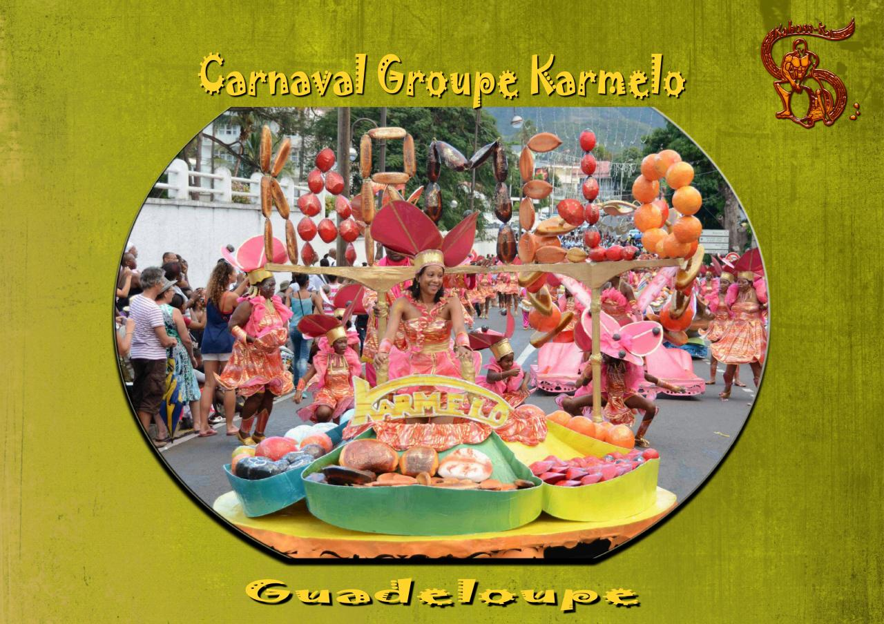 CARNAVAL GROUPE KARMELO 2 - GUADELOUPE