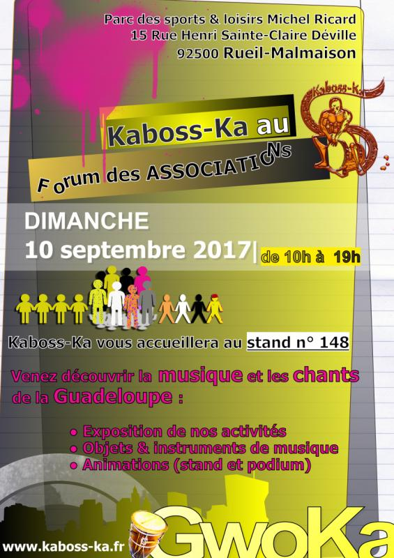Kaboss ka flyer septembre 2017